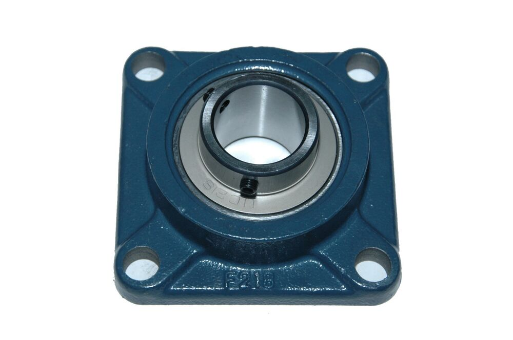 3 4 Square Bore Bearings : Quot new ucf bolt flange bearing ebay
