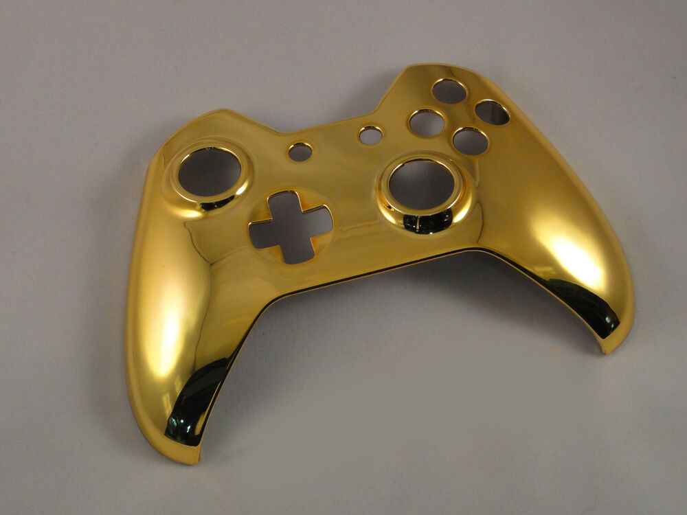 Chrome Gold Front Shell For Xbox One Controller - New | eBay