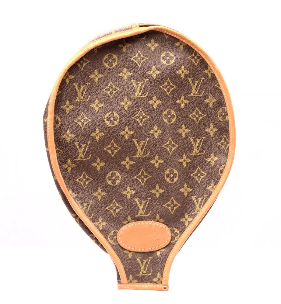 louis vuitton monogram tennis racquet cover