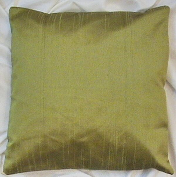 18x18 Quot Polyester Dupioni Silk Cushion Cover Solid Pillow