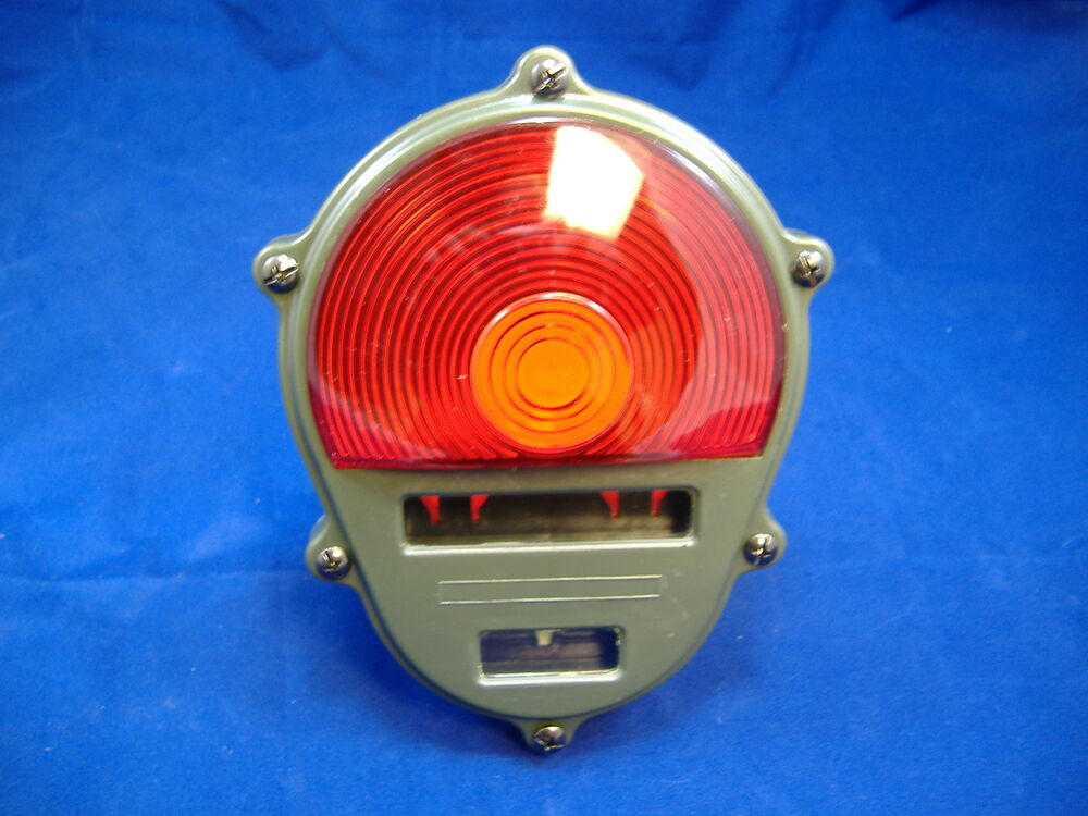 Newer Vehicle Tail Light Lenses : M a military vehicle tail lite lens