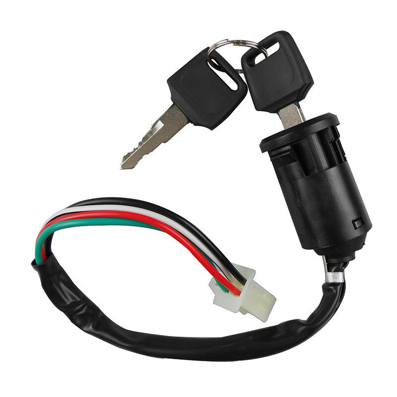 ignition key lock switch 50cc-250cc atv dirtbike taotao ... universal key switch wiring diagram