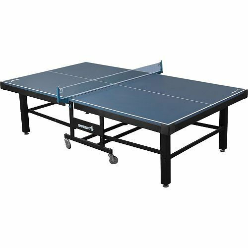 Sportcraft mariposa table tennis ping pong w blue top for Regulation 85 table a