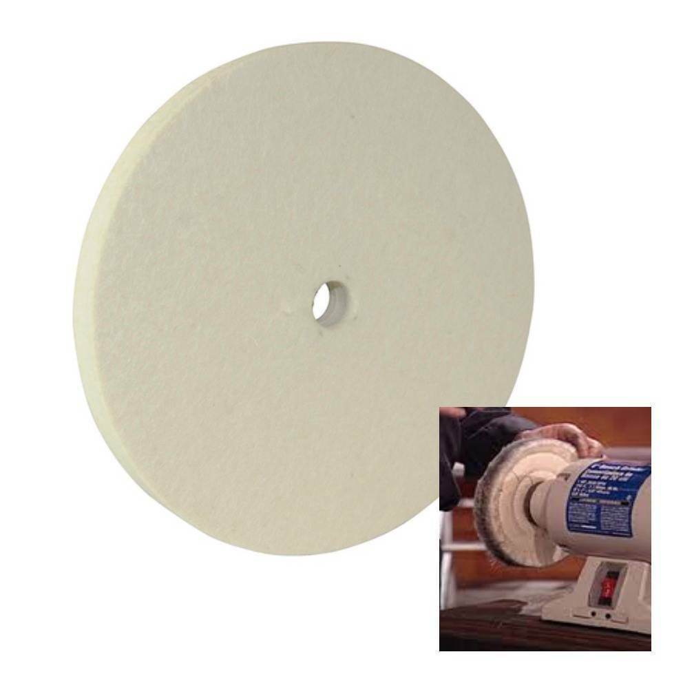 Marble Polishing Buffing : Felt buffing wheel mm quot for polishing most metals