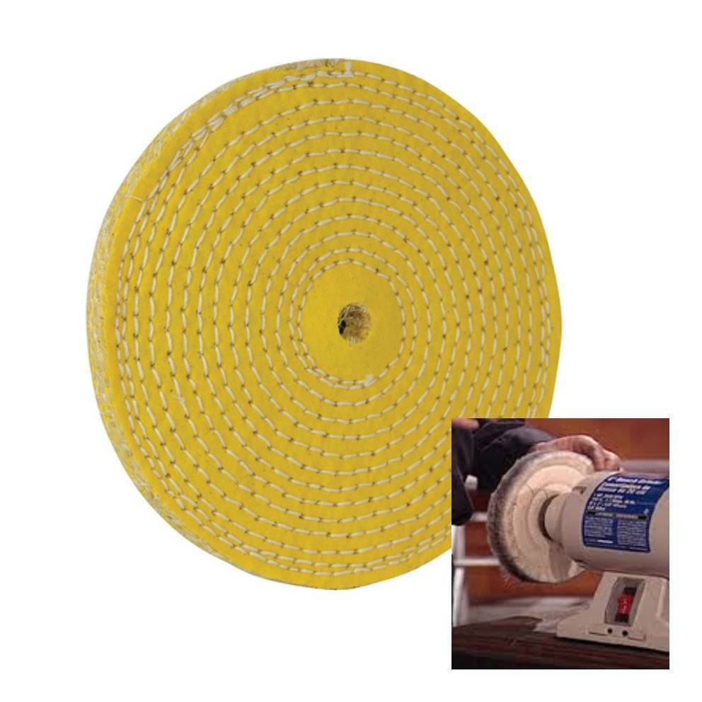 Sisal Buffing Polishing Wheel 150 Mm 6 Quot Weld Grind