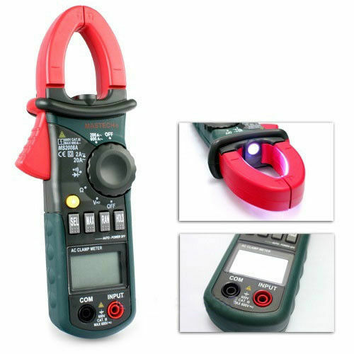 Cen Tech Clamp Meter : Mastech ms a digital clamp meter ac current voltage