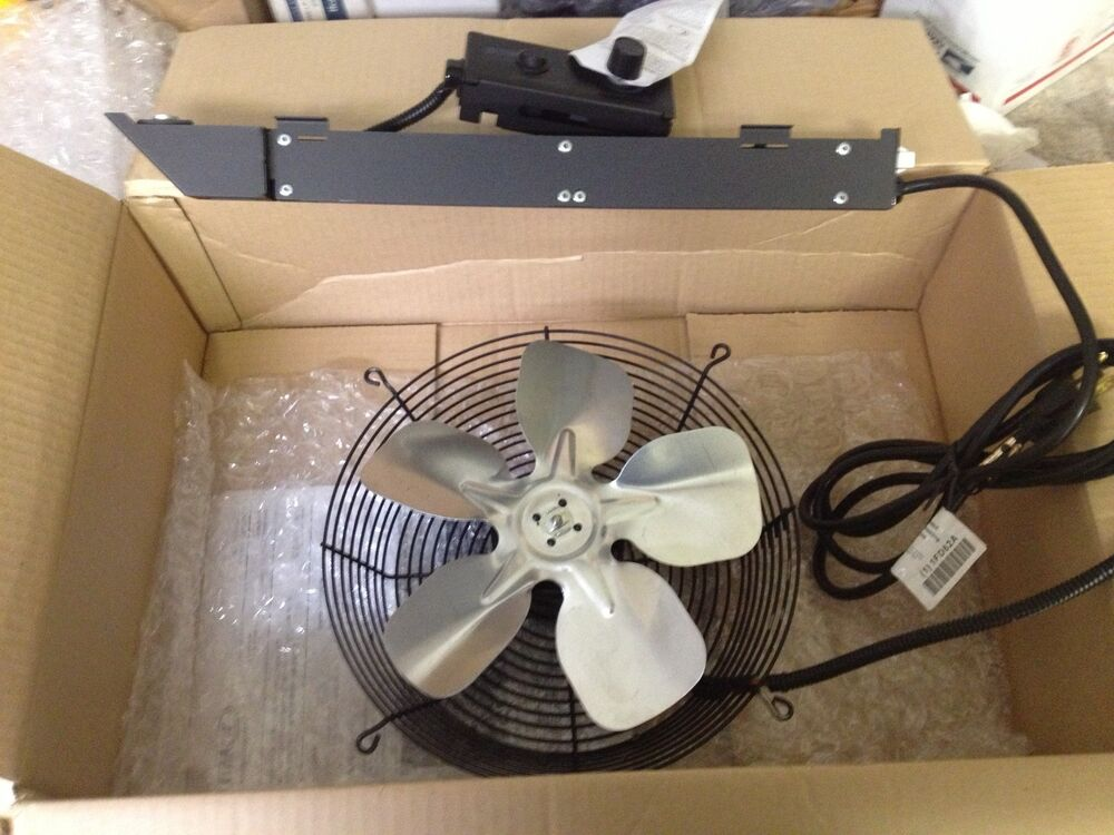 Oven Fans And Blowers : Wood stove blower fan in fireplace replacement parts ebay