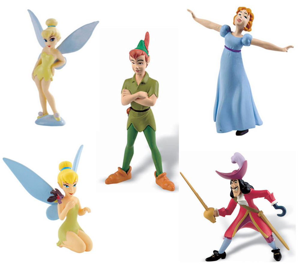 Peter Pan Figurines For Cake