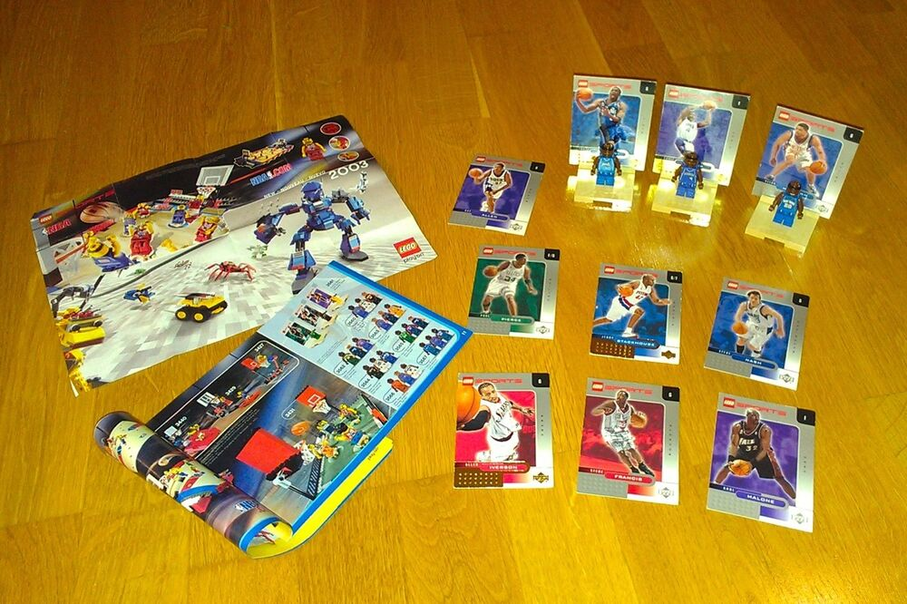 LEGO Sports Basketball NBA Collectors set 673419018401 | eBay