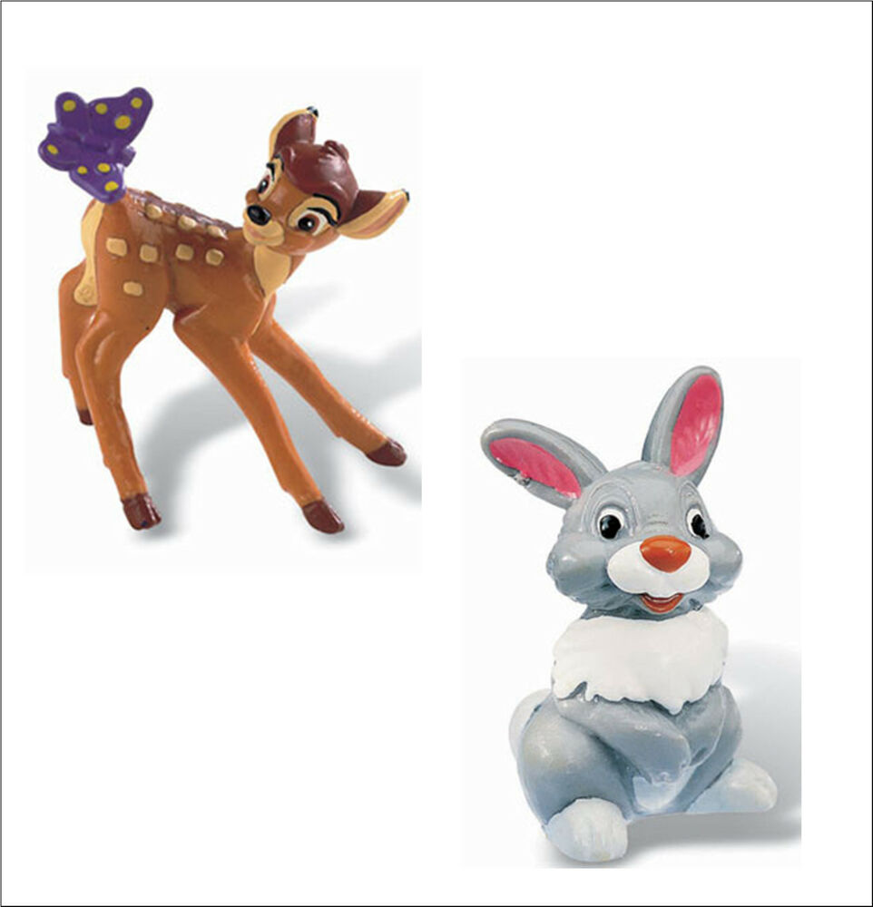 Official Bullyland Disney Bambi Figures Figurines Toys