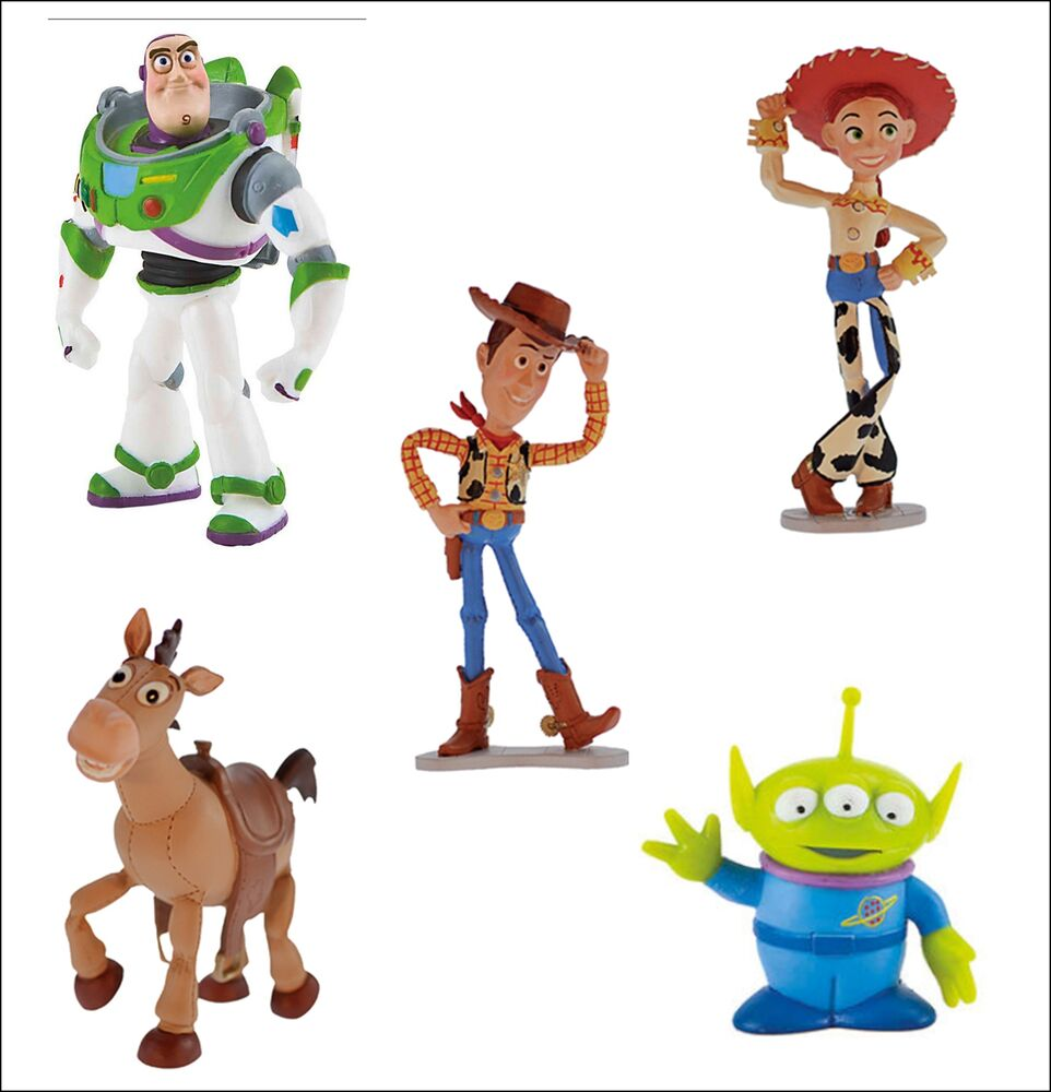 Toy Story Figures : Bullyland disney toy story figures figurines toys cake