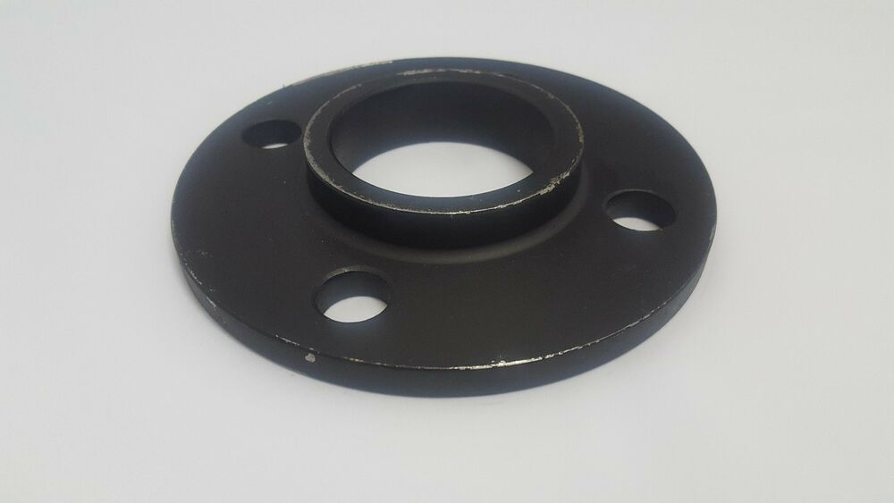 Black self colour steel table 39 e 39 weld flange pipe for Table e flange