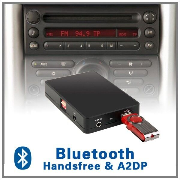 car stereo bluetooth handsfree a2dp cd changer adapter. Black Bedroom Furniture Sets. Home Design Ideas