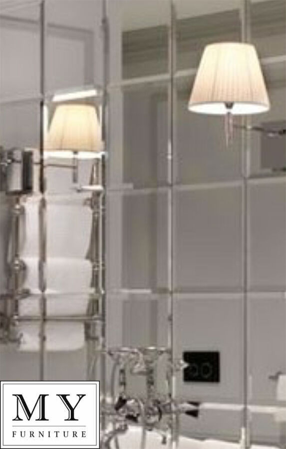 mirrored tiles bathroom 6 x large 30cm x 30cm mirror square wall tiles with 13696