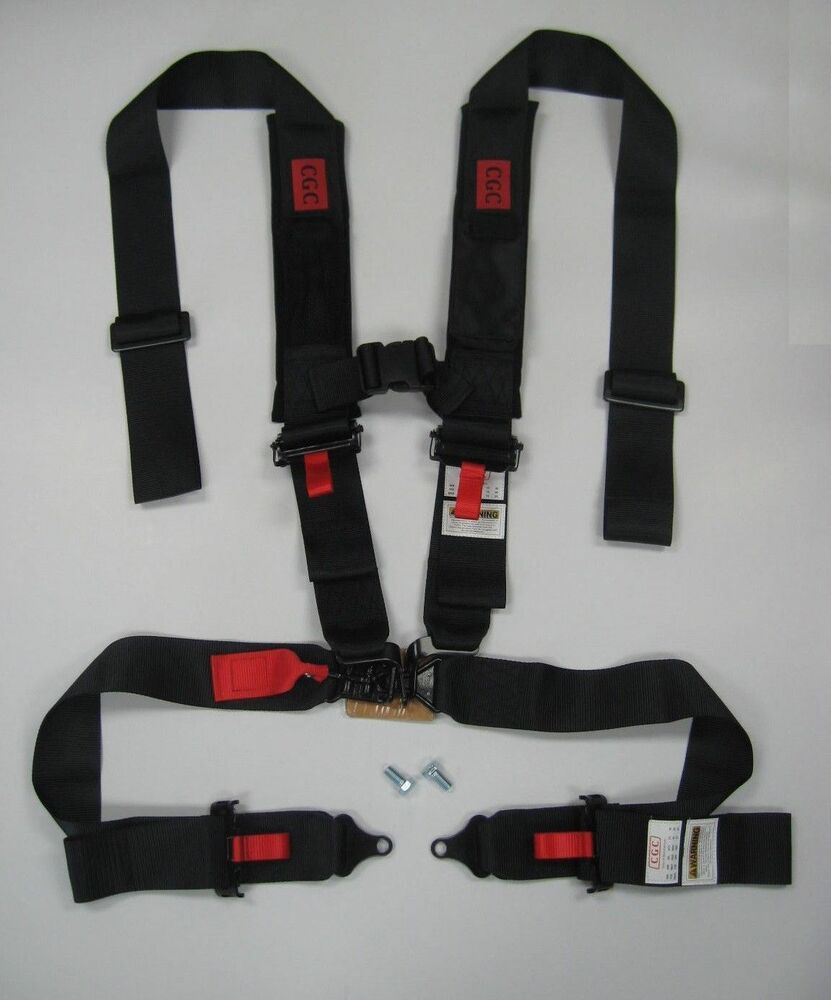 New Utv Safety Harness 4 Point 3 Quot Padded Rzr4 Xp900 Xp1000