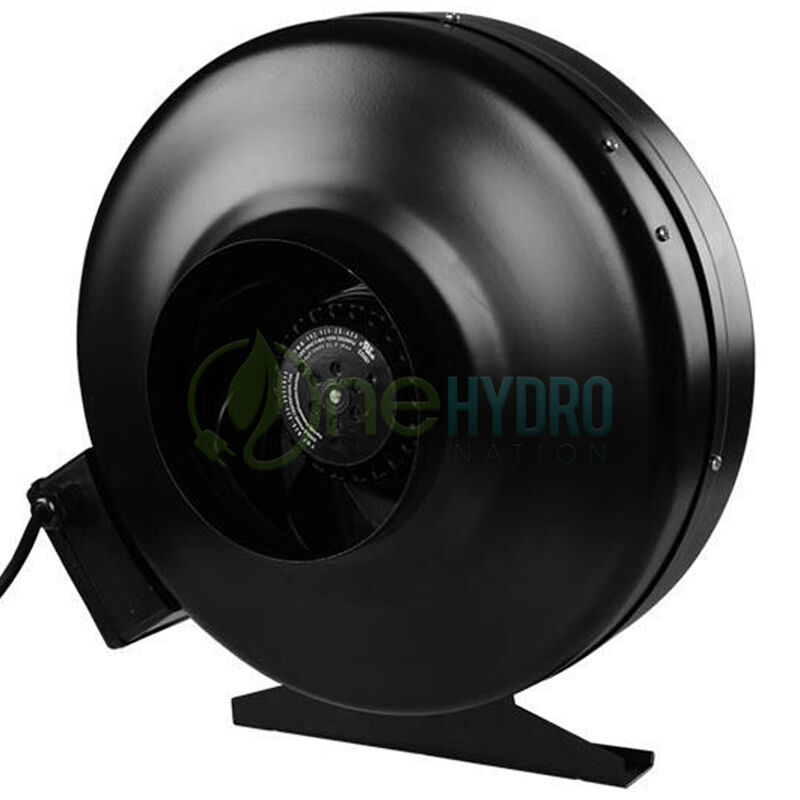 6 Inch Inline Duct Fan : Quot inch inline fan hydroponics centrifugal air duct