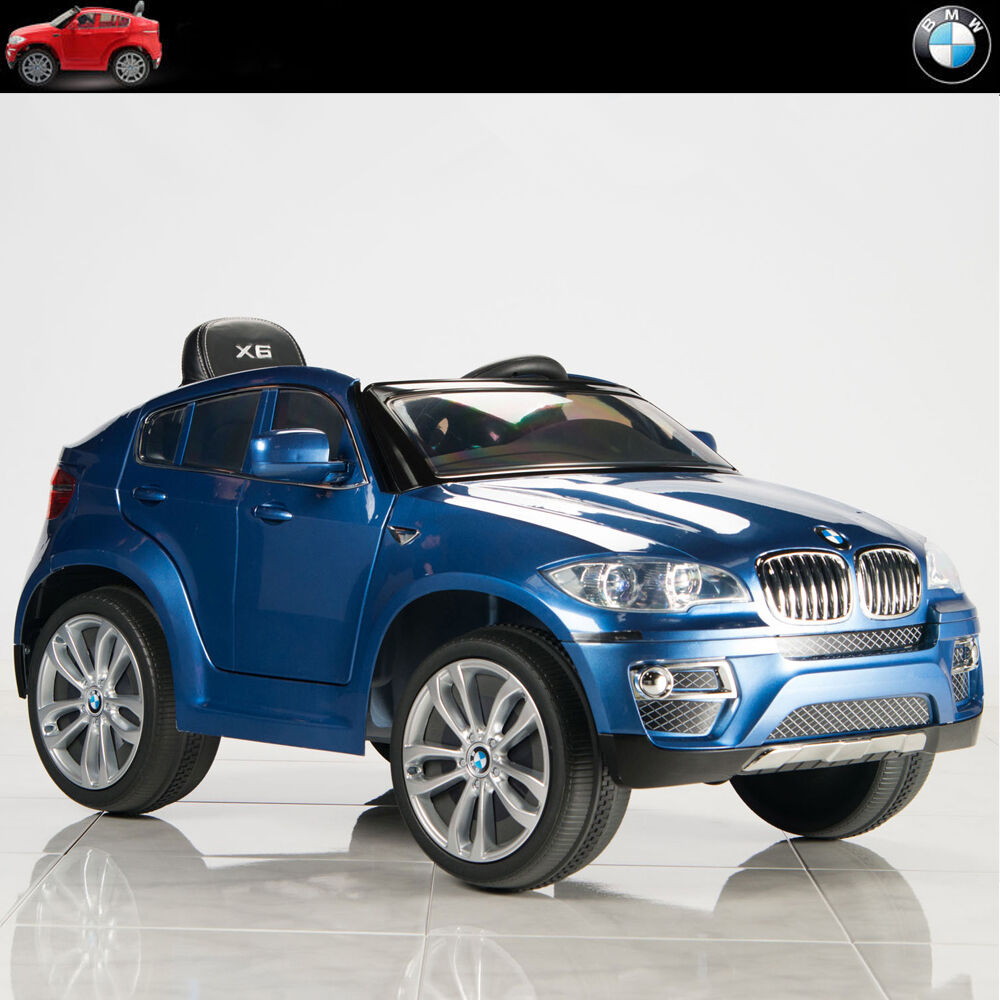 Bmw X6 12v Kids Ride On Car Battery Power Wheels Toy