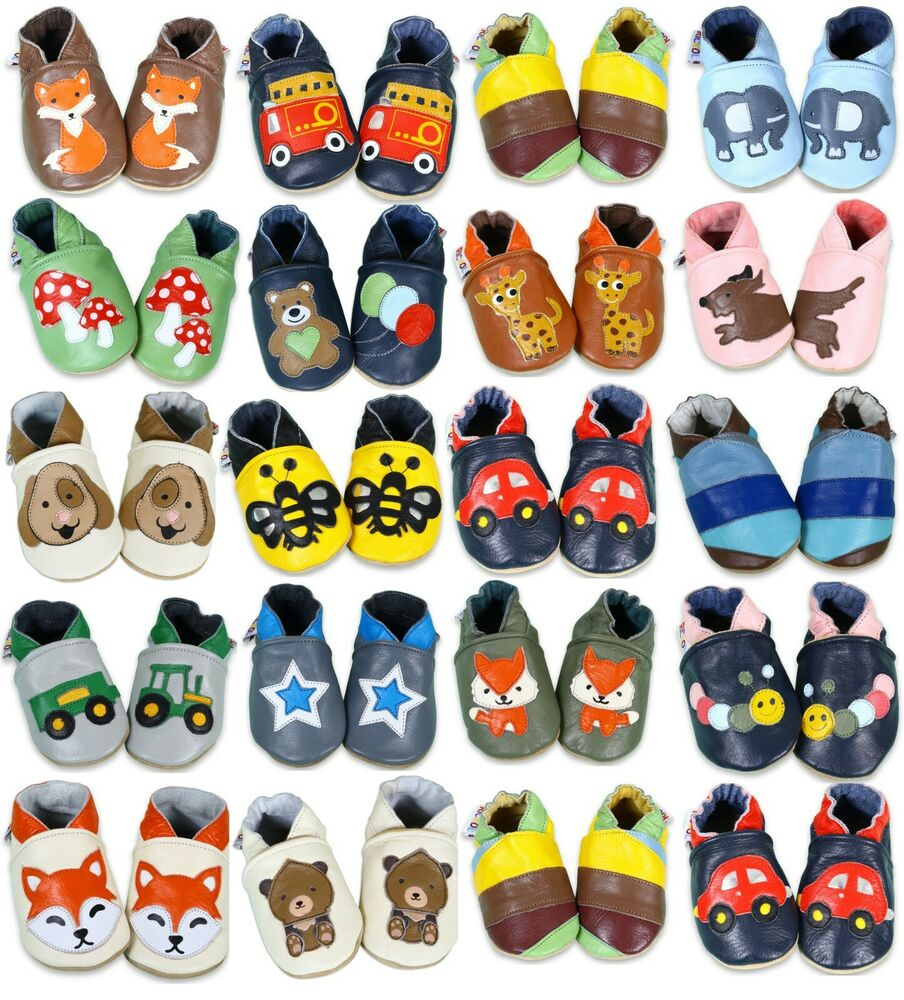 Soft Leather Baby Girls Boys Shoes 0 6 6 12 12 18 18 24