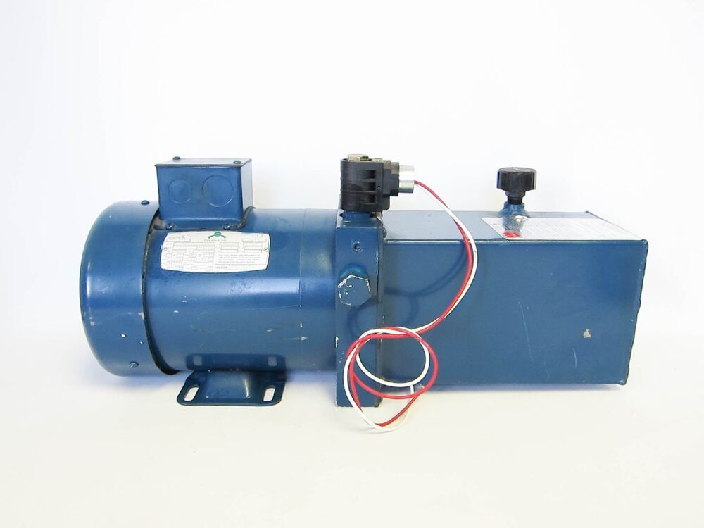 wajax pump w leeson 3 4 hp electric motor ebay