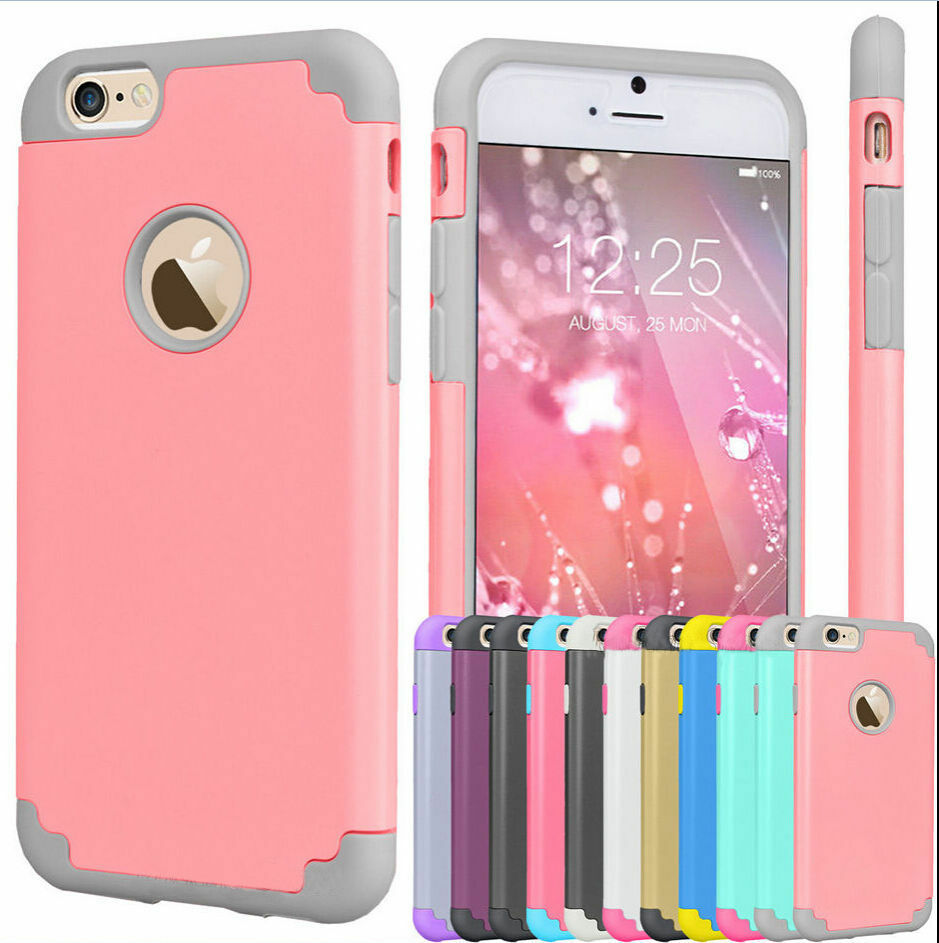 iphone 6 phone covers for iphone 6 6s 7 plus shockproof rugged hybrid rubber 15014