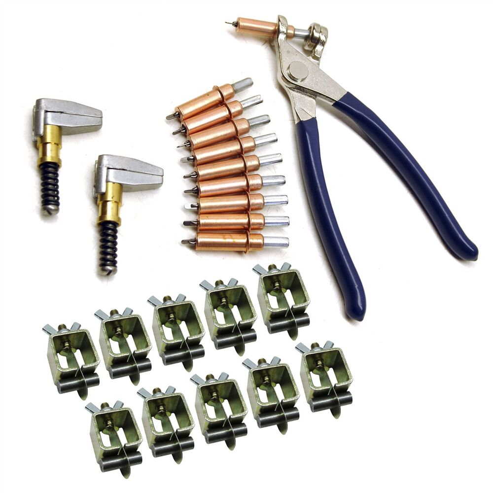 Intergrips Weld Clamps Sheet Metal Fasteners 10pk With