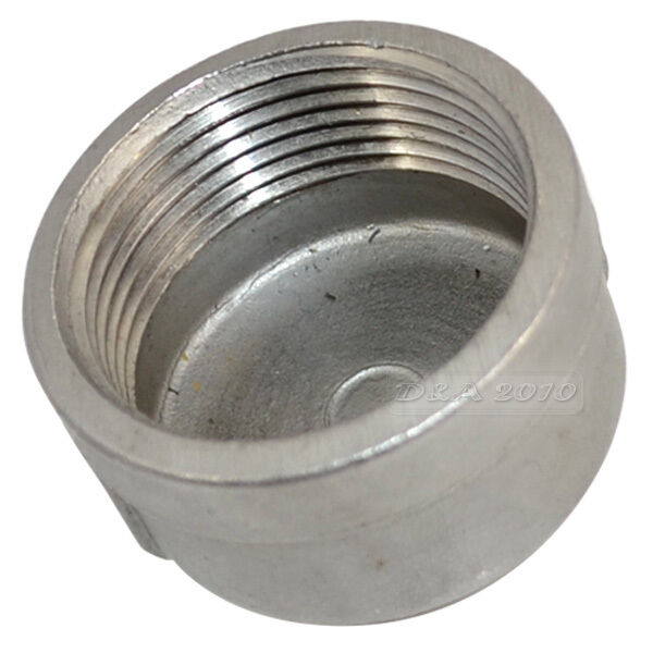 Quot cap female stainless steel ss threaded pipe
