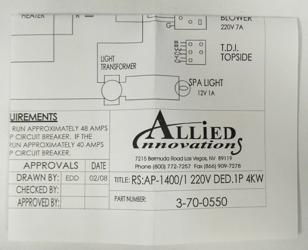 allied innovations wiring diagram ap rs  allied innovations 3 70 0550 wiring diagram ap 1400 rs 1400 1 220v ded 1p 4kw