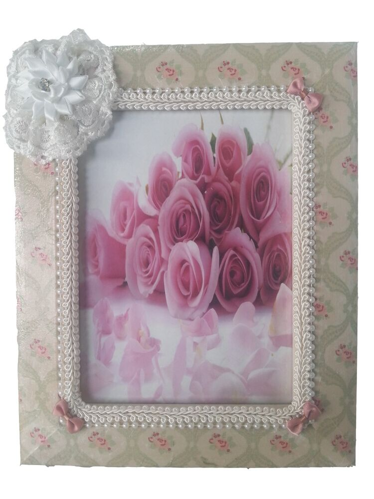 Handmade photo frame picture home decor new wood wooden ebay Home decoration photo frames