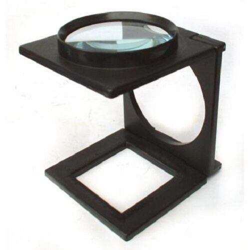 hands free large magnifying glass on stand magnifier ebay. Black Bedroom Furniture Sets. Home Design Ideas