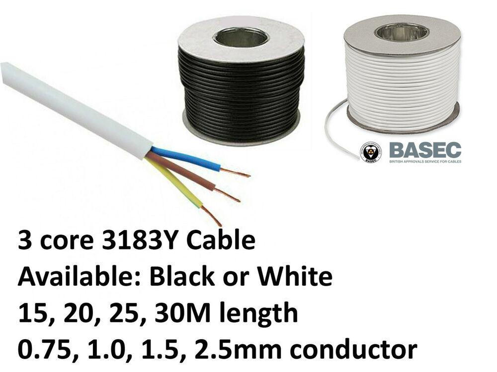 2 5 Pvc Cable : Pvc flexible cable core y black white