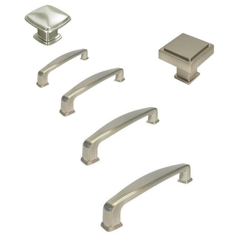 3 1 4 cabinet pulls brushed nickel cabinet square knobs pulls 1 1 4 quot 3 quot 3 3 10148