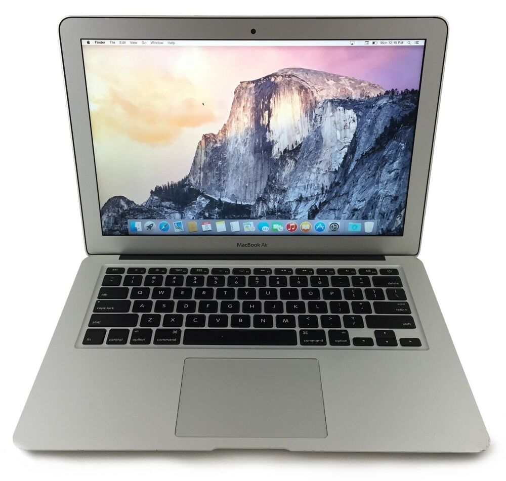 apple macbook air core i5 1 8ghz 4gb 128gb 13 md231ll a 885909523504 ebay. Black Bedroom Furniture Sets. Home Design Ideas