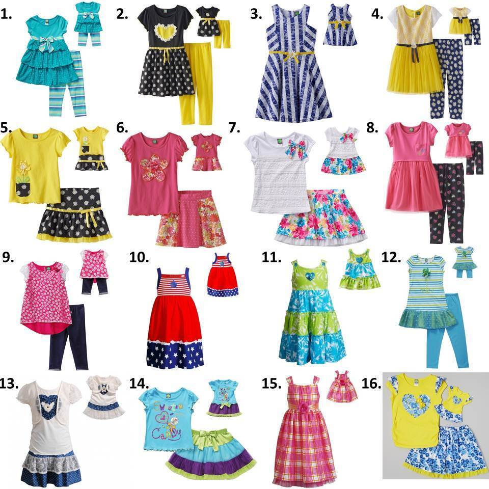 Dollie Amp Me Sz 4 14 And 18 Quot Doll Matching Dress Outfit Clothes American Girl Ebay