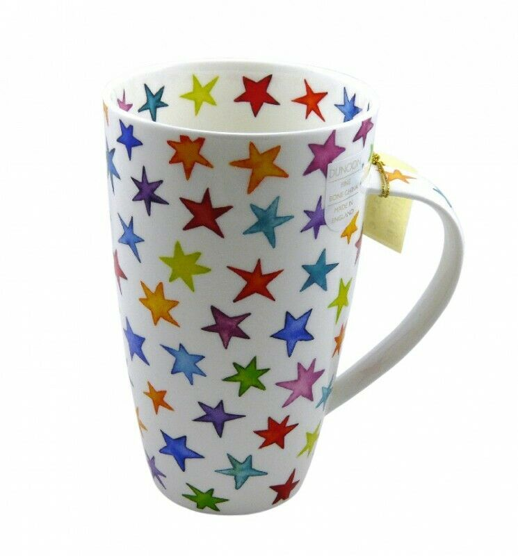 dunoon tasse fine bone china porzellan henley starburst 600ml ebay. Black Bedroom Furniture Sets. Home Design Ideas