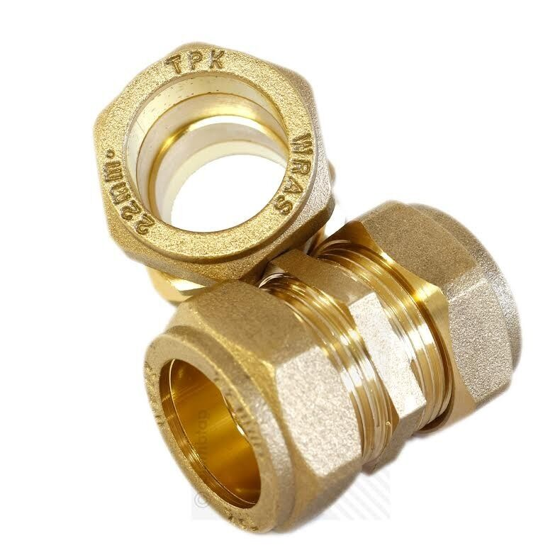New wessex compression fitting straight coupling mm