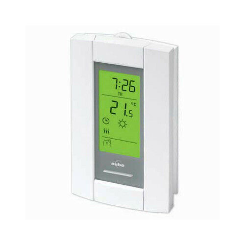 Honeywell aube th115 a 120s 7 day programmable line for Electric radiant heat thermostat
