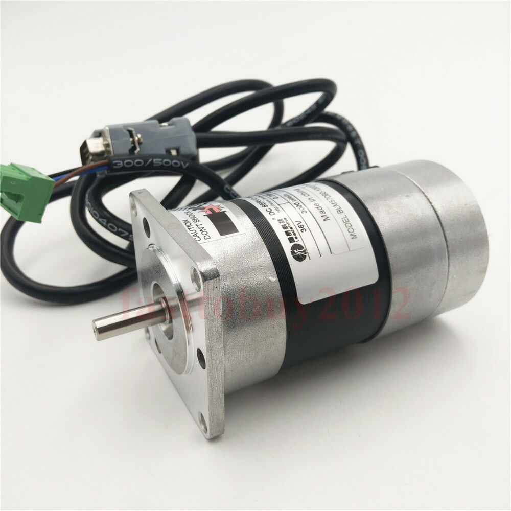 Leadshine Cnc Brushless Dc Servo Motor Encoder 90w
