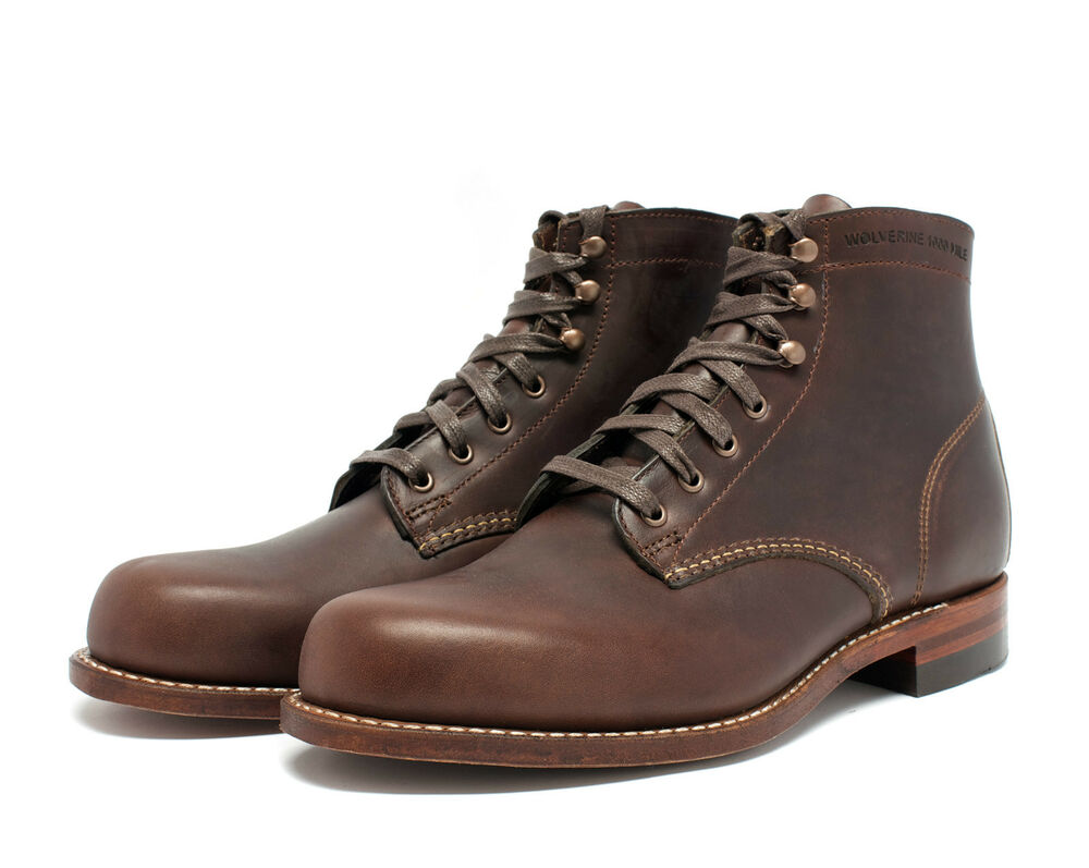 wolverine 1000 mile boot brown w05301 made in the usa ebay
