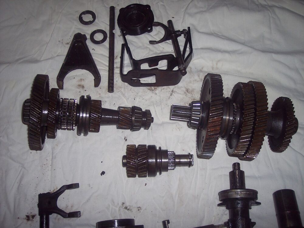8n Ford Tractor Transmission : N transmission complete set speed ford