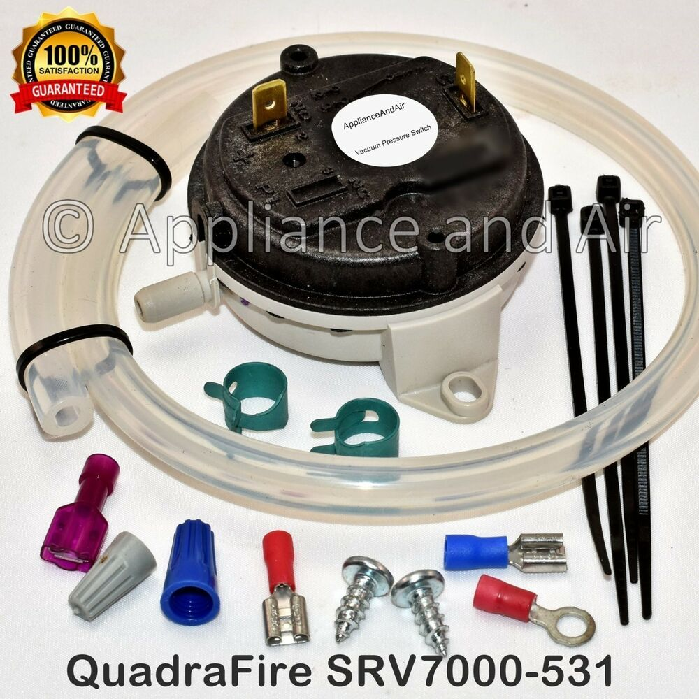 vacuum switch for all quadra fire pellet stoves srv7000 531 vacuum switch for all quadra fire pellet stoves srv7000 531 instructions