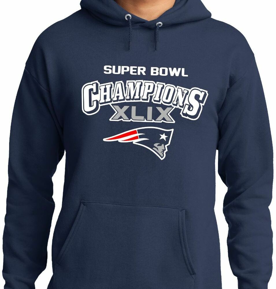 New england patriots super bowl hoodie