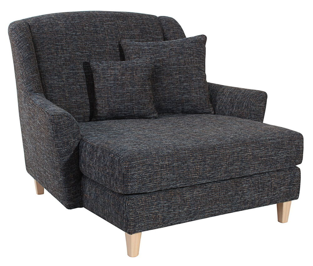 Love seat f r 2 personen xxl sessel megasessel in for Ohrensessel big