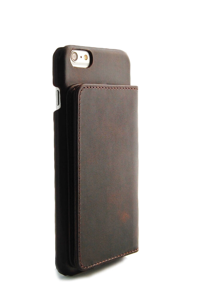 wallet for iphone 6 iphone 6 plus brown grain genuine leather wallet 3067