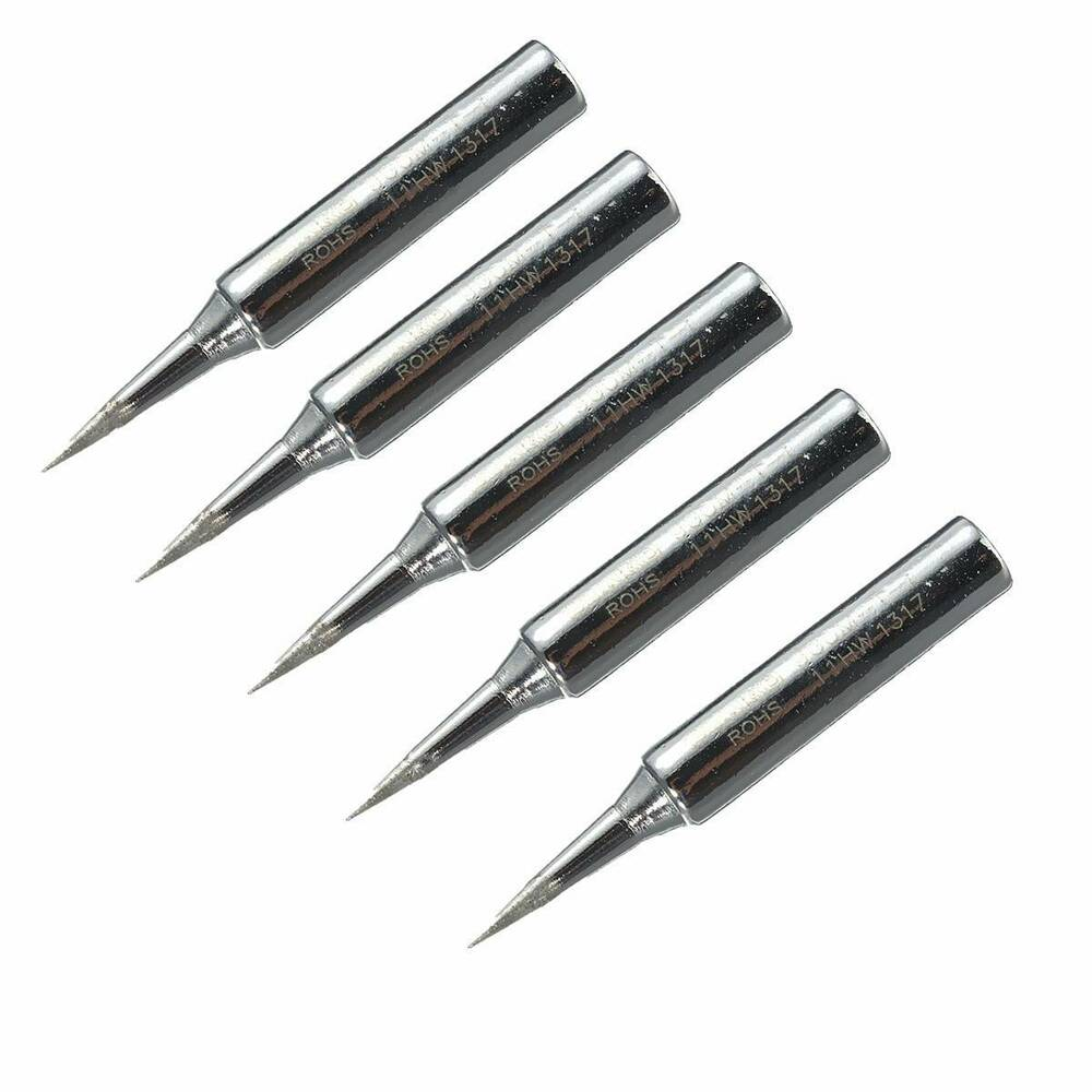 5x lead free replacement soldering tools solder iron tips head 900m t i 936 937 ebay. Black Bedroom Furniture Sets. Home Design Ideas