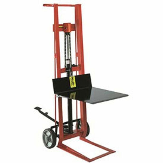 Fork Lift Pedals : New wesco foot pedal platform lift truck two wheel