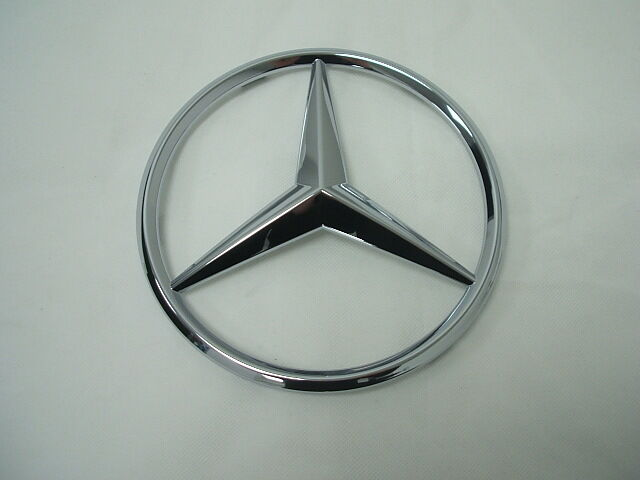 Genuine mercedes benz c class w204 radiator grille star for Mercedes benz front emblem