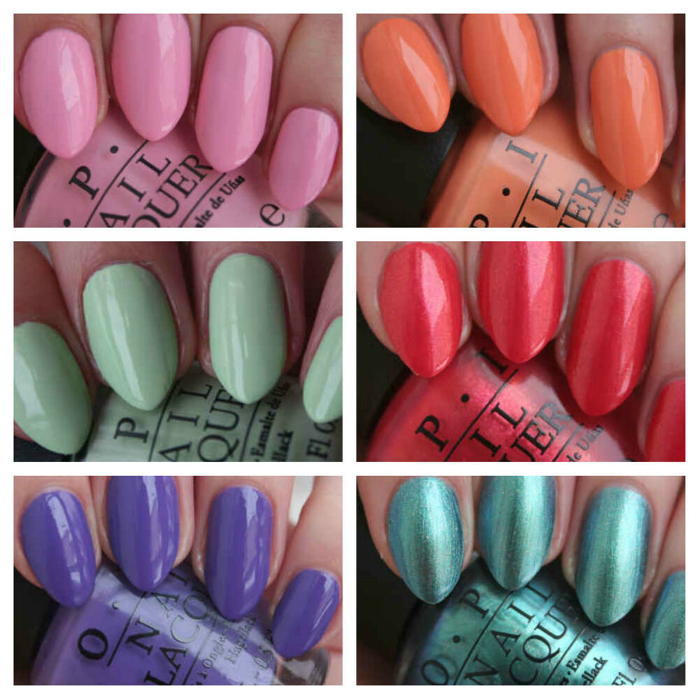 OPI Nail Varnish Hawaii Spring 2015 Collection Polish Lacquer