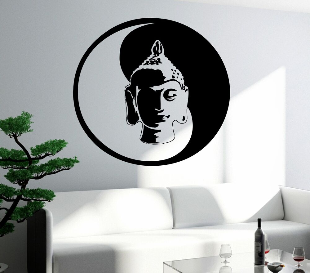 Wall Decal Buddha Buddhism Yoga Om Cool Art For Living