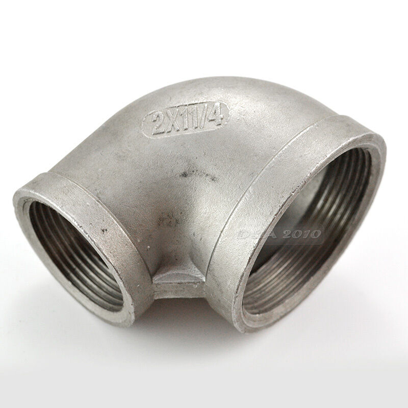 Quot x female threaded elbow reducer pipe fitting
