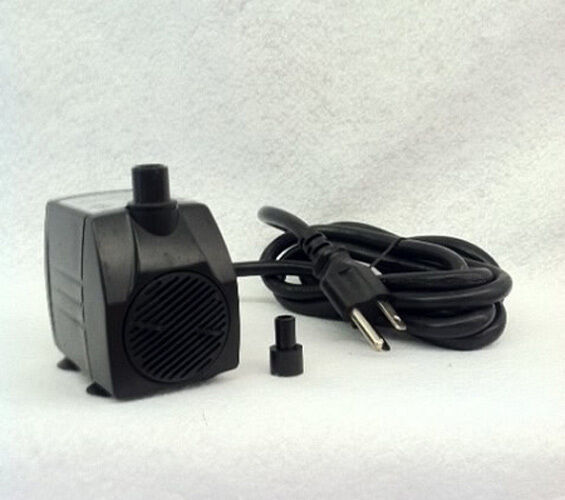 Small submersible fountain aquarium hydroponics pump 160 for Best rated pond pumps